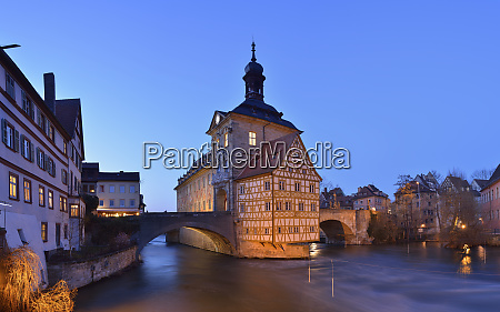 germany bamberg view to town hall