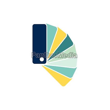 color samples icon