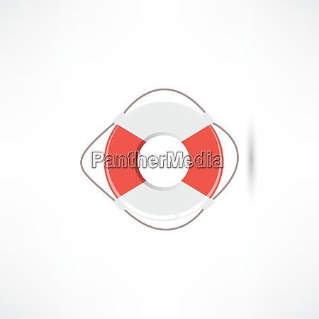 icona di lifebuoy