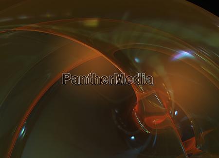 modello di sfondi arancio trasparente astratti