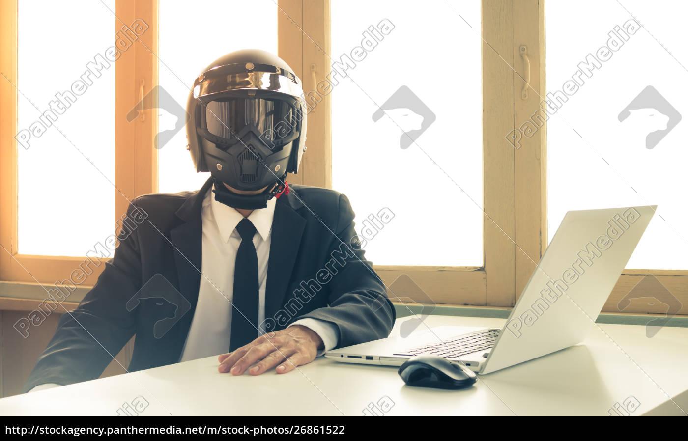 vintage, ai, artificial, intelligence, businessman, concept - 26861522