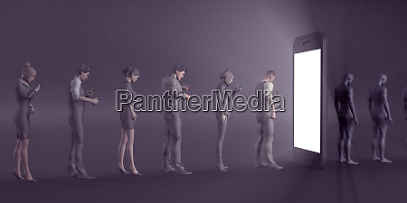 intrattenimento per smartphone