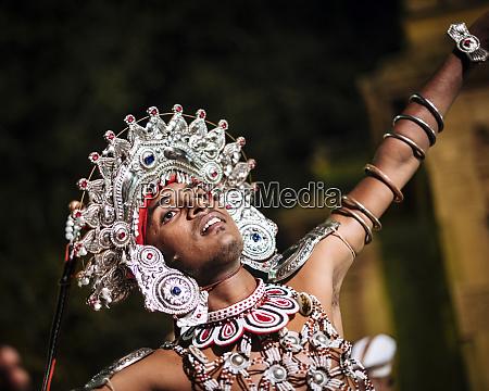 duruthu, perahera, full, moon, celebrazioni, al - 27064530