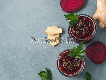 fresh beetroot and ginger smoothie copy