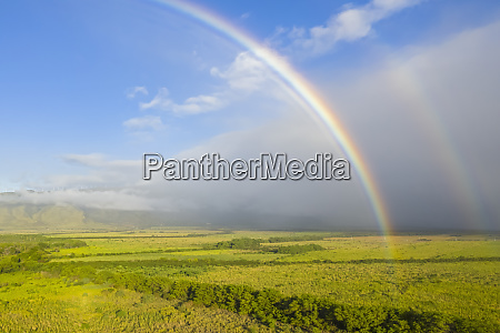 aerial, view, over, west, maui, mountains - 27114132