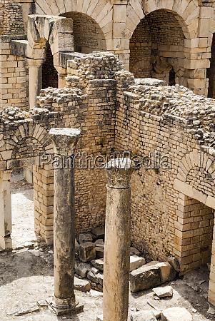 antonian bath dougga archaeological site unesco
