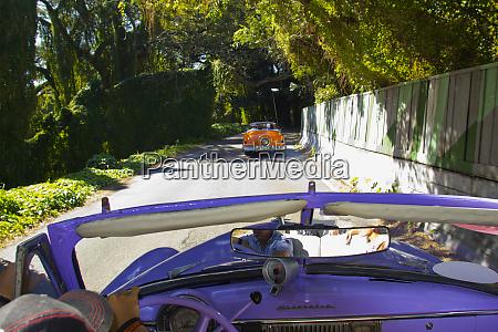 havana cuba driving into metropolitan park