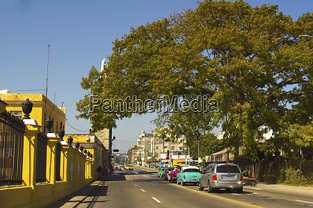 havana cuba view of a colorful