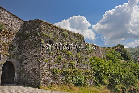 old citadel and castle of gjirokaster
