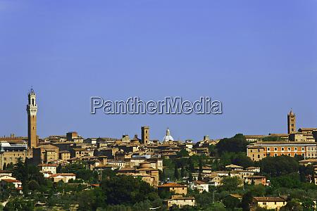 italia siena panoramica della citta