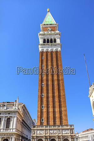 campanile bell tower st marks square