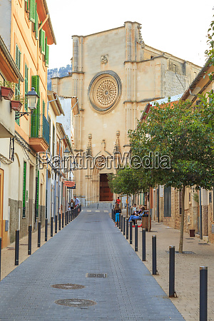 spain balearic islands mallorca esporles esglesia