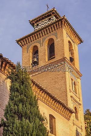 iglesia de santa anna granada andalusia
