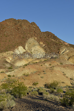 usa nevada lake mead eroded cliffs