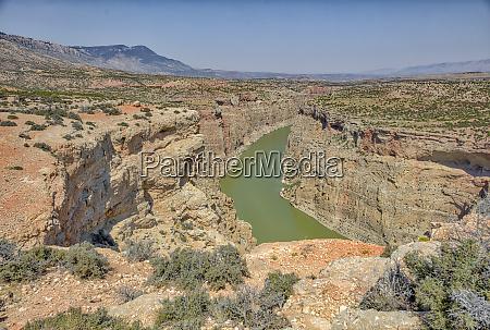 usa wyoming big horn canyon national