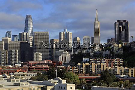 skyline san francisco california stati uniti