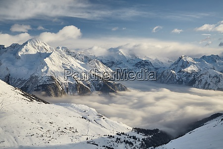 inverno sulle alpi paradiski