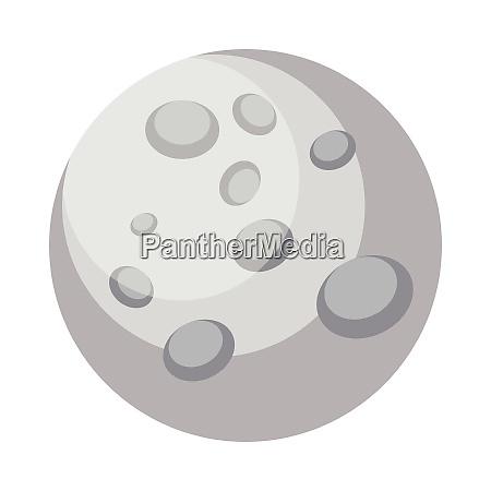 illustrazione vettoriale semplice del disegno mercury
