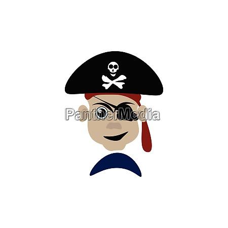 un, pericoloso, vettore, pirata, o, illustrazione - 27503080