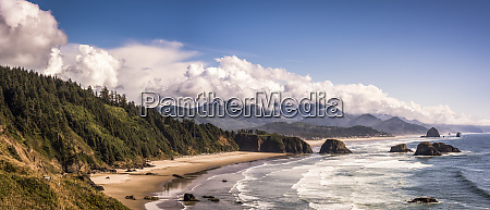 beaches extend from ecola state park