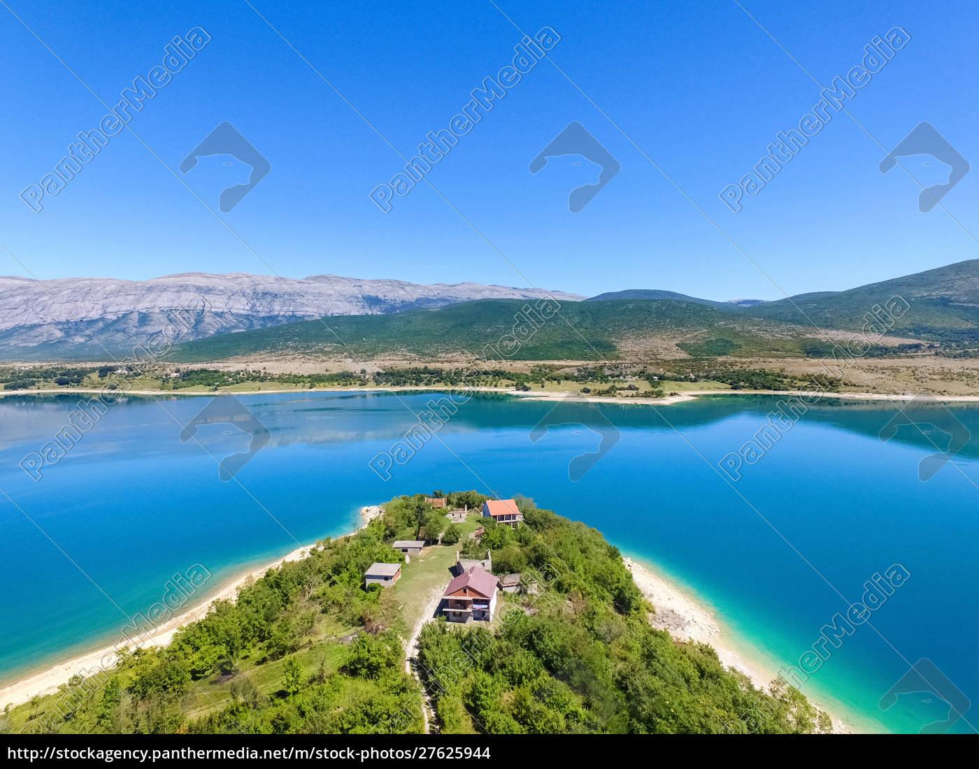 veduta, aerea, del, lago, peruca, secondo, lago - 27625944
