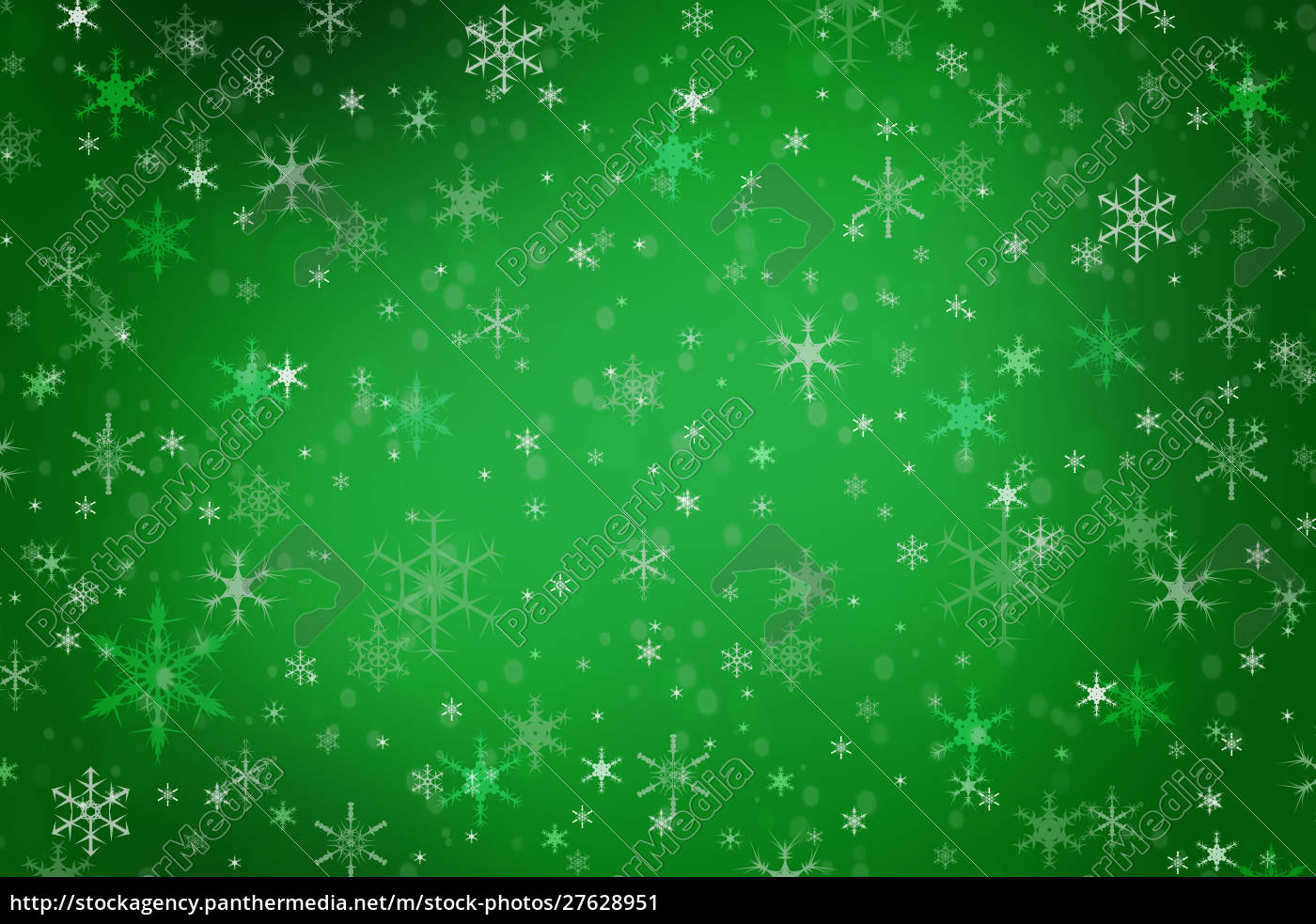 abstract, green, christmas, winter, background - 27628951