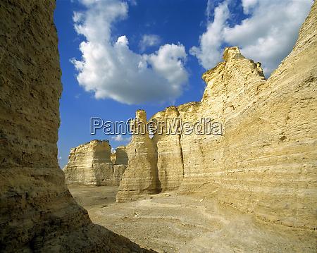 usa kansas logan county monument rocks