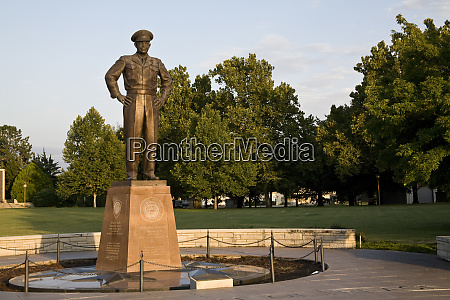 united states kansas abilene a monument