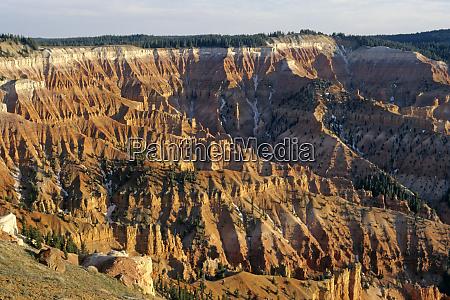 usa utah cedar breaks canyon amphitheater