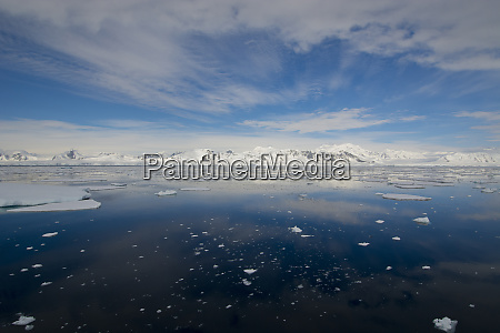 south of the antarctic circle near