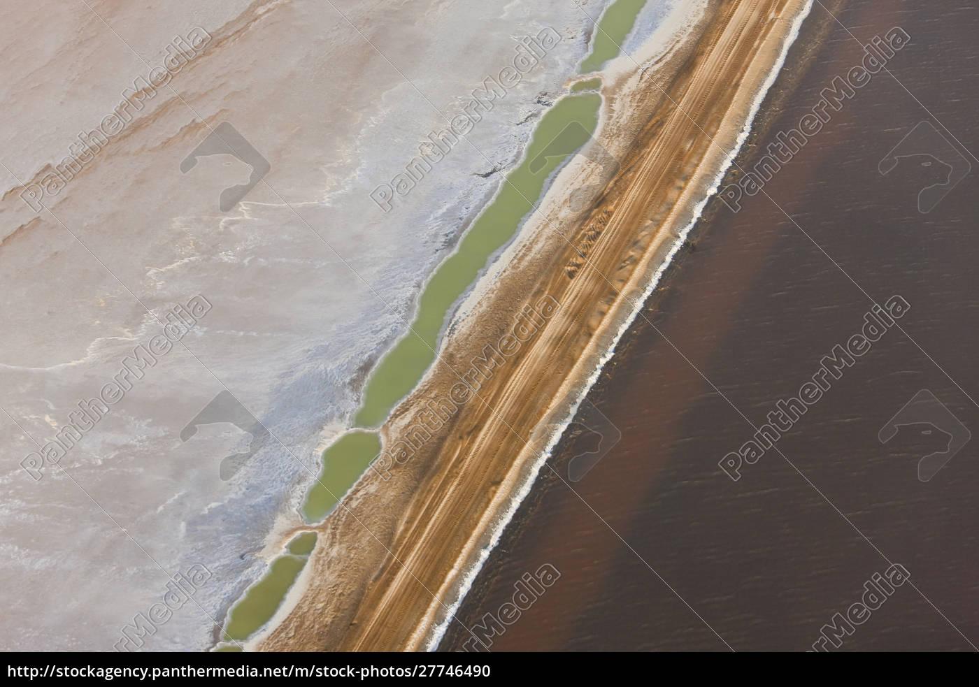 swakopmund, salandhe, vista, aerea, namibia - 27746490
