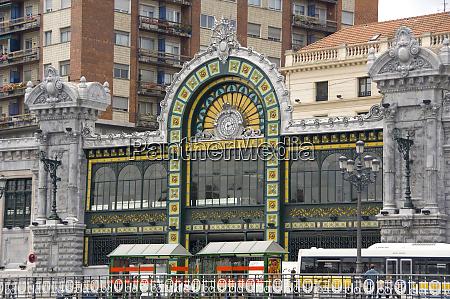 spain bilbao historic art nouveau santander