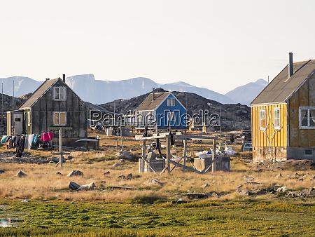 ikerasak a small traditional fishing village