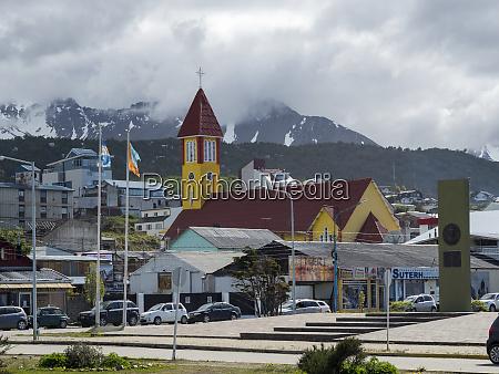 town ushuaia on tierra del fuego