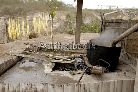 south america ecuador manta small town