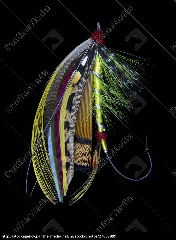 atlantic, salmon, fly, designs, 'green, doctor' - 27887999