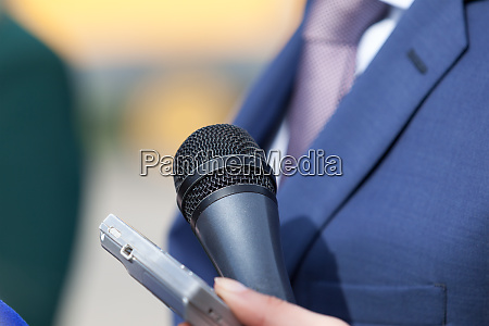 media interview broadcasting journalism