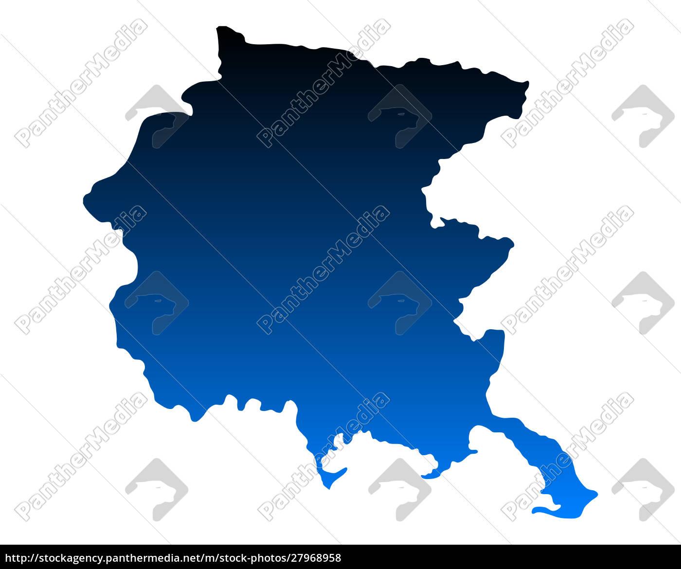 map, of, friuli-venezia, giulia - 27968958