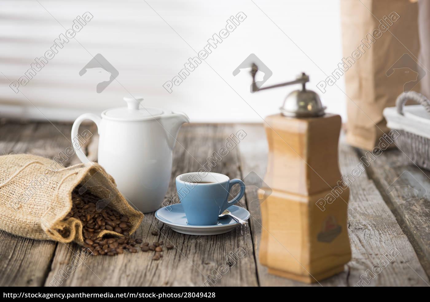 germania, alta, baviera, baviera, caffè, natura, morta - 28049428