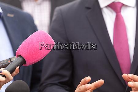 public relations pr media interview