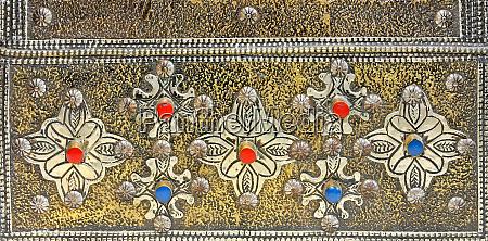 artigianato dargento marocchino