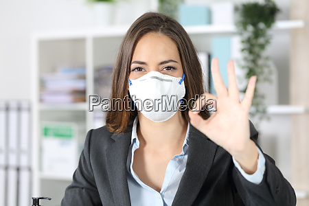 esecutivo gestendo ok evitando coronavirus in
