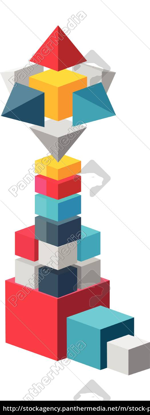 abstract, boxes, making, a, new, tower - 28581628