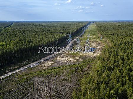 russia leningrado oblast tikhvin vista aerea