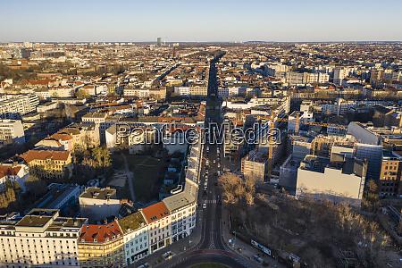 germania berlino vista aerea del distretto