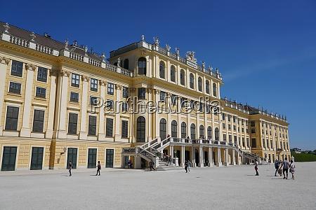 palazzo schonbrunn patrimonio dellumanita dellunesco vienna