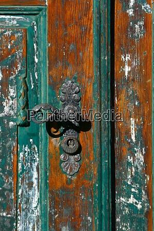 maniglia, porta, storica - 28903901