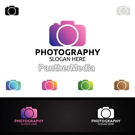 modello di progettazione vettoriale icona fotografia