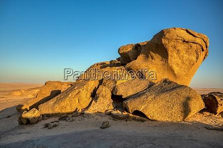 formazione rocciosa nel deserto del namib