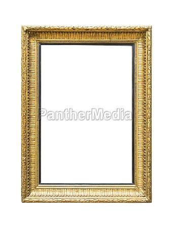 cornice doro decorativa rettangolare